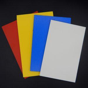 PVC-Hartschaum Farbig
