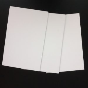 PVC-Hartschaum Weiß
